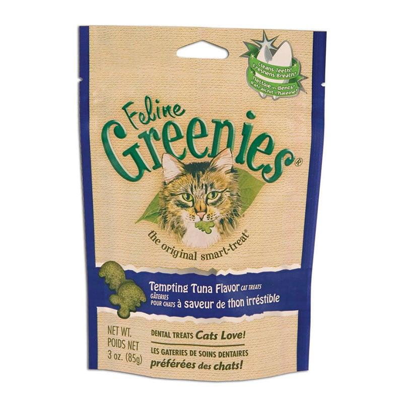 Greenies Cat Dental Treats Tuna 2.5oz Case of 10