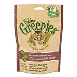 Greenies Cat Dental Treats Beef 2.5oz Case of 10