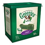 Greenies Dog Dental Treats - Large - 17/pk