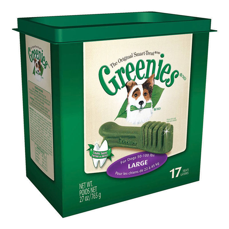Greenies Dog Dental Treats Large 17/pk Case of 12