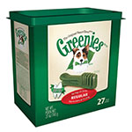 Greenies Dog Dental Treats Regular 27/pk Case of 12