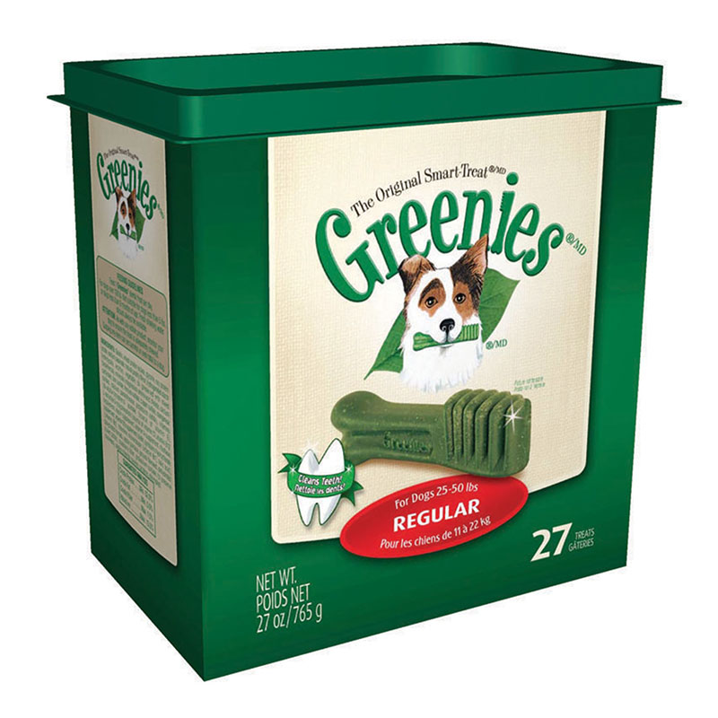 Greenies Dog Dental Treats - Regular - 27/pk