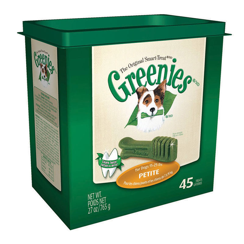 Greenies Dog Dental Treats - Petite - 45/pk
