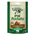 Greenies Canine Pill Pockets Peanut Butter Tablet 30/pk - 6 Pack