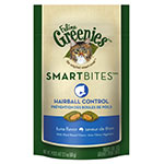 Greenies Feline SMARTBITES Hairball Control Tuna 2.1oz - 6 Pack