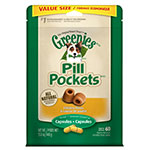 Greenies Canine Chicken Pill Pockets Capsules 15.8oz VALUE SIZE 60/pk thumbnail