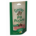 Greenies Cat Pill Pockets Salmon Flavor - 45/pk