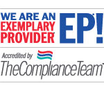 We are an Exemplary Provider!
