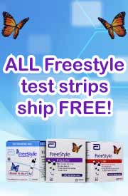 FreeStyle Test Strips - Free Shipping!
