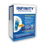 INFINITY Glucose Test Strips 50/bx thumbnail