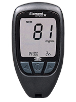 Infopia Element Compact V Talking Blood Glucose Meter
