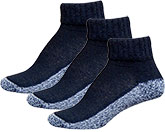 InStride Xelero Comfort Quarter Socks Black - 3 pairs