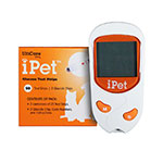 UltiCare Vet Rx iPet Blood Glucose Meter Kit W/50 Extra Strips