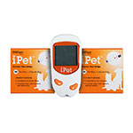 UltiCare Vet Rx iPet Blood Glucose Meter w/100 Extra Strips