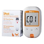iPet PRO Blood Glucose Monitoring System plus 50 Test Strips thumbnail