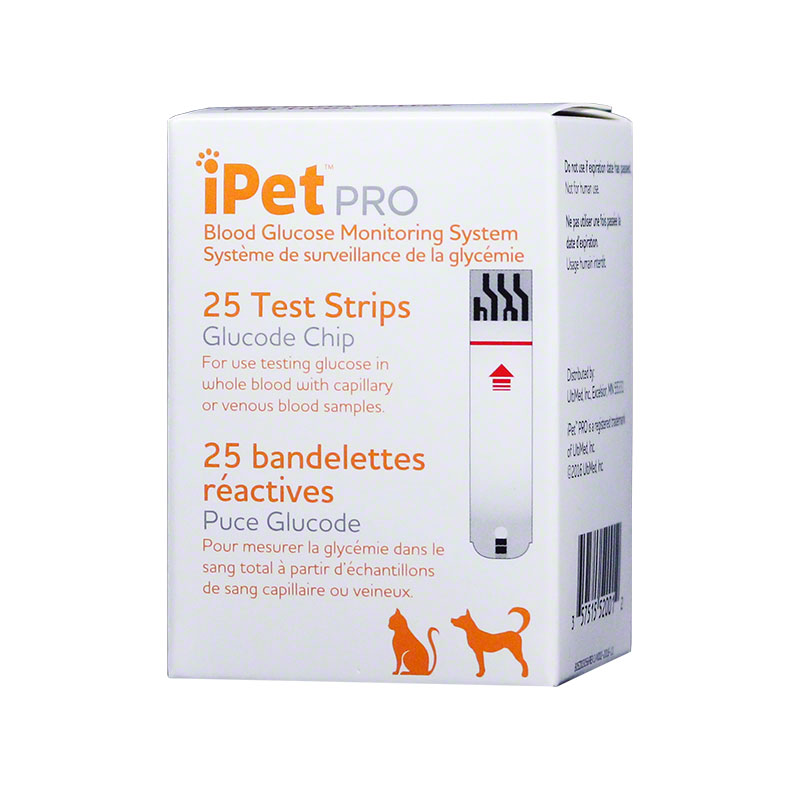 iPet PRO Blood Glucose Test Strips - 25ct