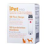 iPet PRO Blood Glucose Test Strips - 50ct