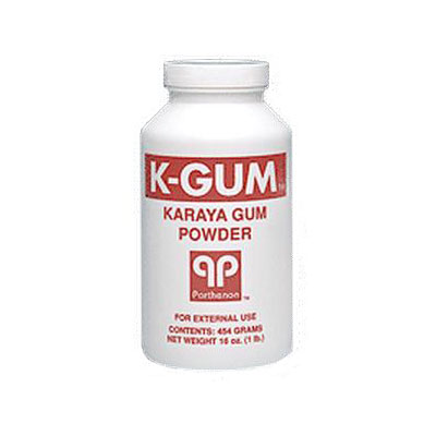 K-Gum Karaya Gum Powder 3oz Puff Bottle