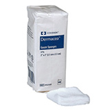 Covidien Dermacea Non-Sterile 12-Ply Sponge Dressing 2X2 200ct