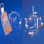 Kendall Kangaroo Pump Set w/1200ml Bag & EasyCap Closure Each