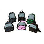 Kendall Kangaroo Joey Super Mini Backpack Black Pack of 4