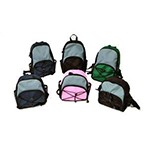 Covidien Kangaroo Joey Super Mini Backpack Black Pack of 4