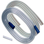 """Covidien Argyle Suction Tubing with Molded Connectors 1/4"""" x 6' thumbnail"""