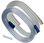 "Covidien Argyle Suction Tubing w/Molded Connectors 1/4 x 6"" 4-Pack"