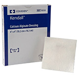 Covidien Curasorb Calcium Alginate Dressing 2x2 10ct Case of 4