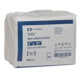 Kendall TELFA Sterile Ouchless Non Adherent Dressing 8x10 500/bx