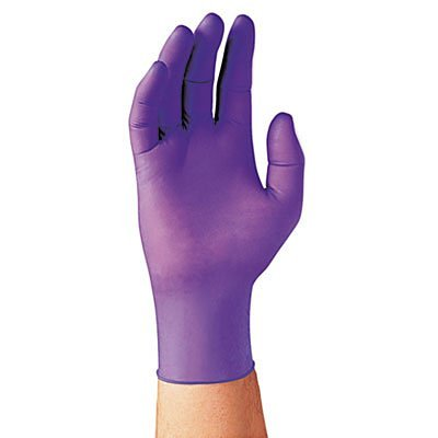 Kimberly Clark Nitrile Exam Gloves Purple Box of 50 - Large 5 boxes