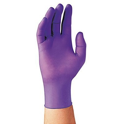 Kimberly Clark Nitrile Exam Gloves Purple Box of 50 - XL Case of 10
