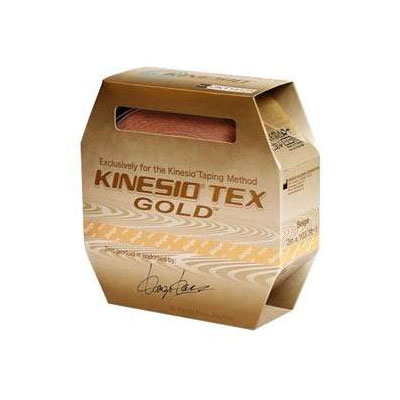 Kinesio Tex Gold Wave Elastic Athletic Tape 2 inch x 5.4 yd - Black