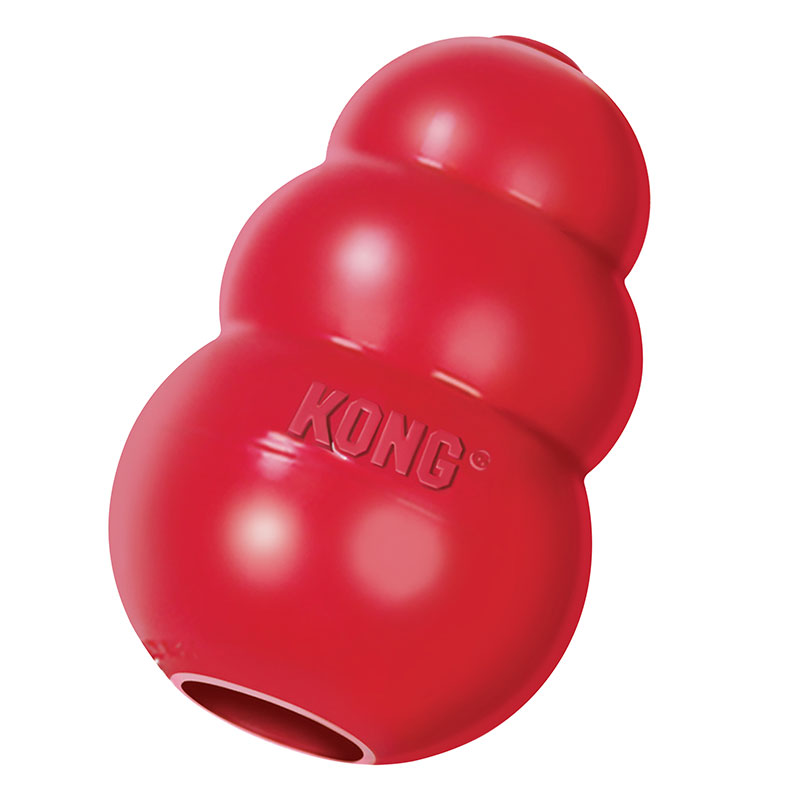 KONG Classic Dog Chew Toy Red - Medium
