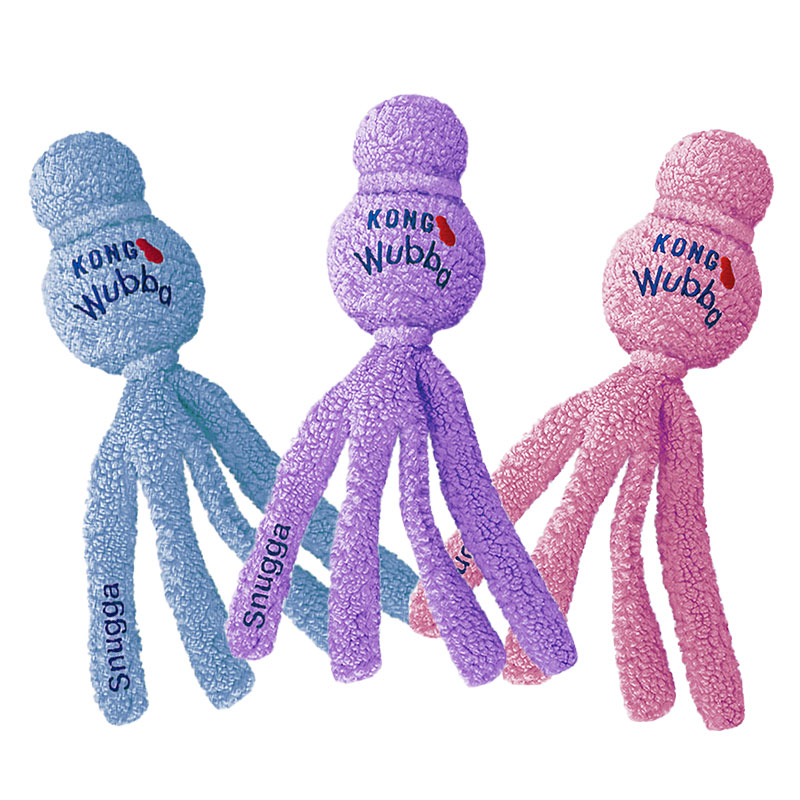 KONG Snugga Wubba Fleece Toy Without Squeaker - X-Large