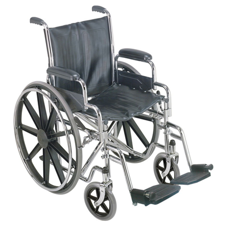 Mabis DMI 18 Wheelchair with Removable Desk Arms