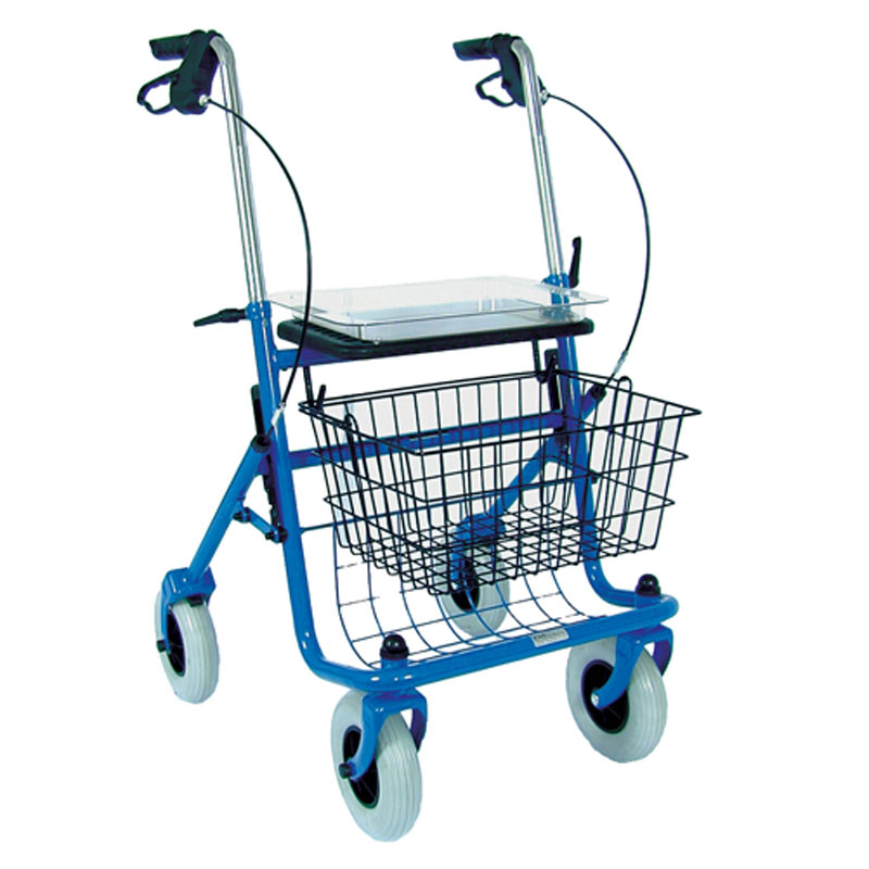 Mabis DMI Traditional Steel Rollator Blue