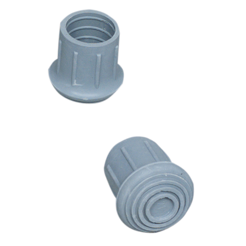 Mabis DMI Walker and Cane Replacement Tips 21 Gray 1-1/8 inch