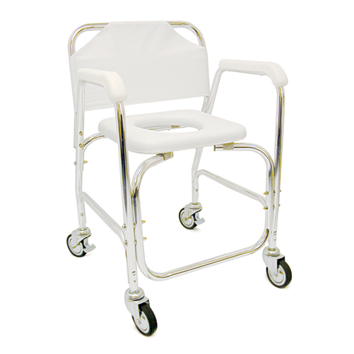 Mabis DMI Shower Transport Chair