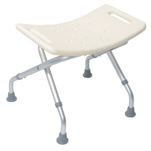 Mabis DMI Folding Shower Seat without Backrest