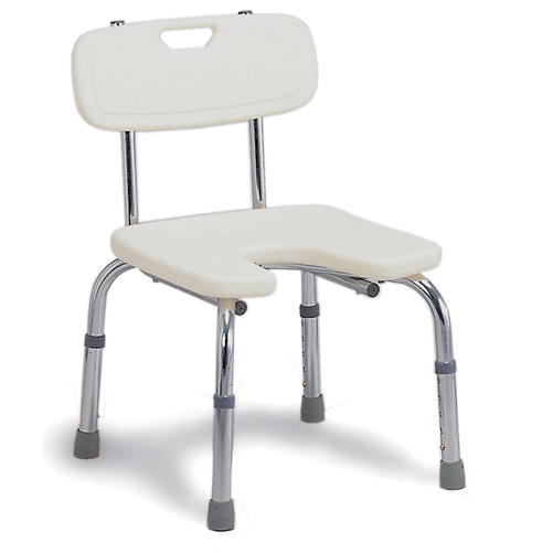 Mabis DMI Hygienic Bath Seat with Backrest