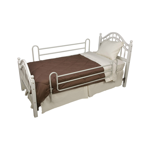Mabis DMI Steel Home Bed Rails Twin