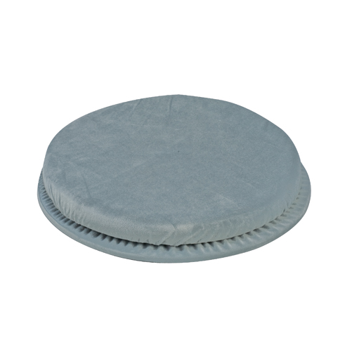 Mabis DMI Swivel Seat Cushion Gray 15-1/2 inch