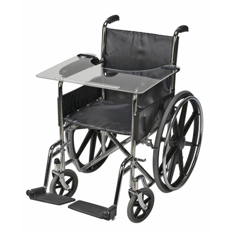 Mabis DMI Wheelchair Tray Acrylic