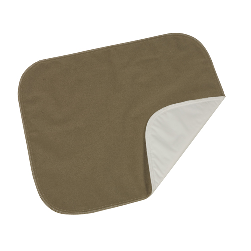 Mabis DMI Protective Seat Pad Brown Velour 18x20