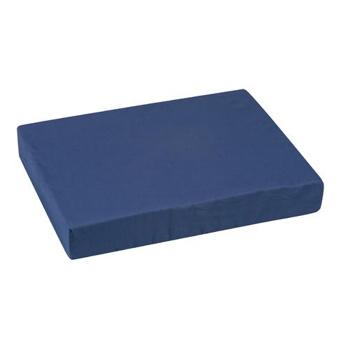 Mabis DMI Wheelchair Cushion Poly/Cotton Cover Navy 16x20x3