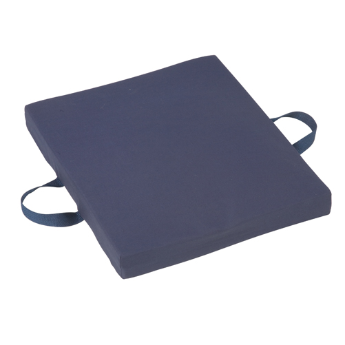 Mabis DMI Gel/Foam Cushion Poly/Cotton Cover Navy 16x18x2