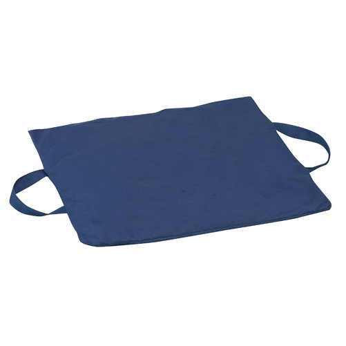 Mabis DMI Duro-Gel Flotation Cushion Poly/Cotton Cover Navy 16x18