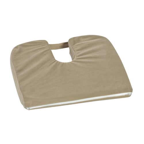Mabis DMI Sloping Coccyx Cushion Camel