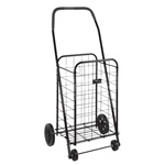Mabis DMI Folding Shopping Cart Black